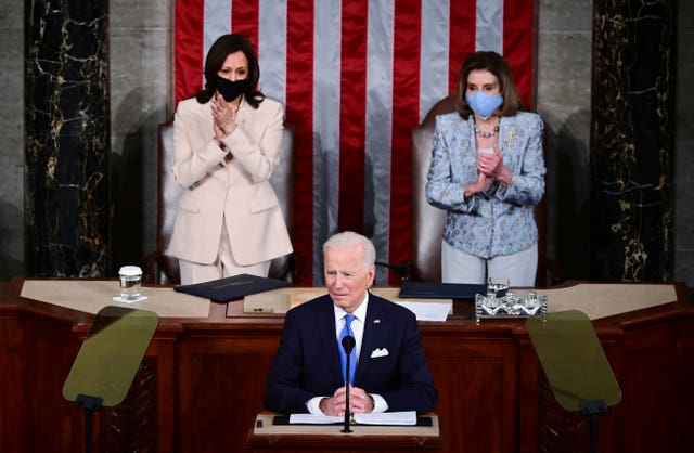 Biden 100 Days Congress