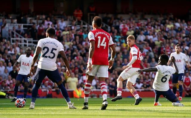 Emile Smith Rowe scored for Arsenal