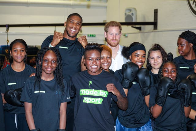 Duke of Sussex launches Made By Sport
