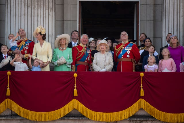 Royal relatives will gather at St George's