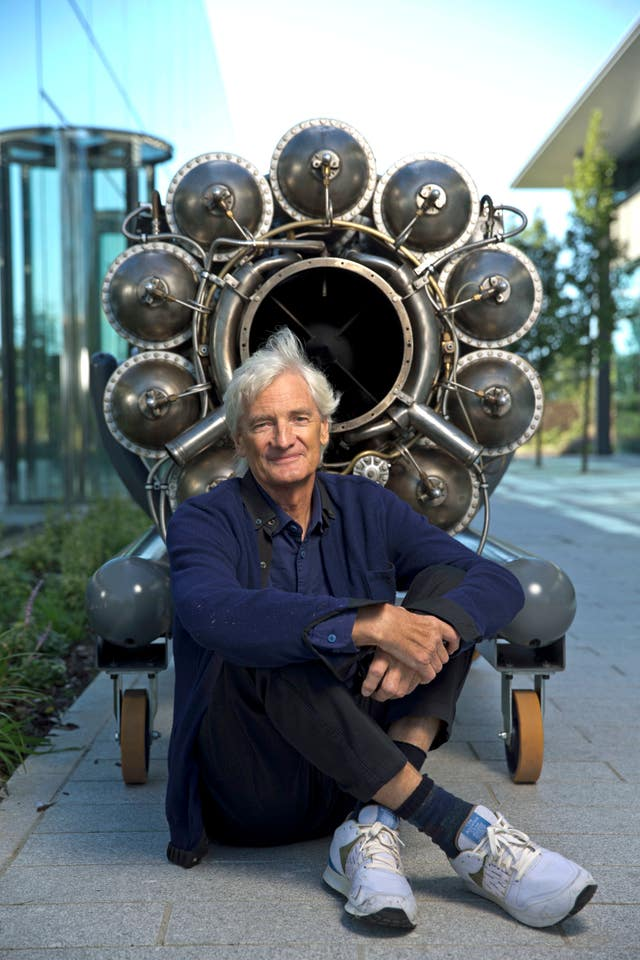 Sir James Dyson's firm has started work on developinga ventilator for the NHS (Heathcliff O'Malley/PA).