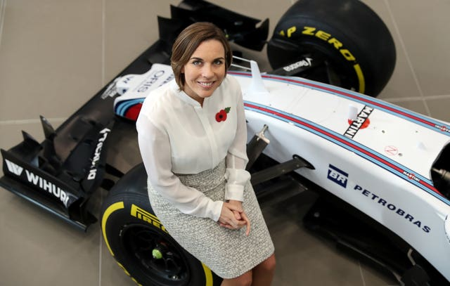 Claire Williams assumed the day-to-day running of her father's team in 2013