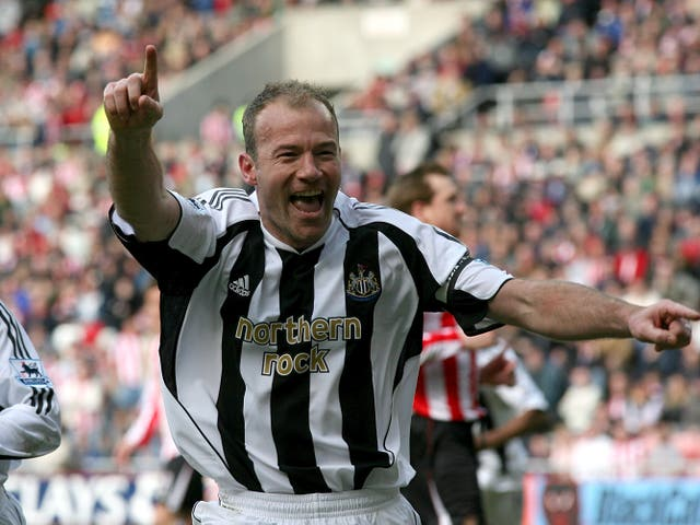 Alan Shearer is Newcastle's record goalscorer