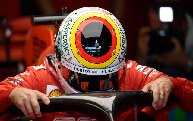 Vettel has suffered many problems since his crash at Hockenheim 12 months ago