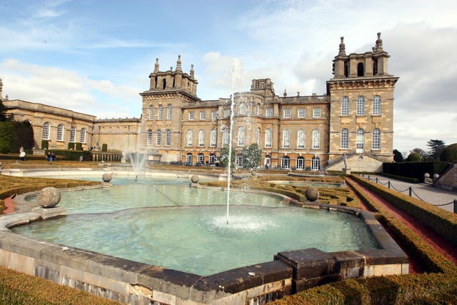 Blenheim Palace golden toilet theft