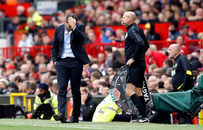 Frank Lampard's tenure as Chelsea head coach started with a 4-0 hammering at Manchester United (Martin Rickett/PA)