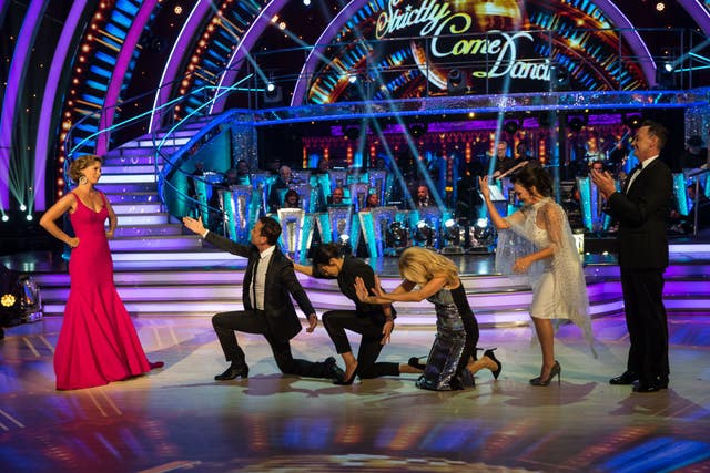 Dame Darcey Bussell, Bruno Tonioli, Claudia Winkleman, Tess Daly, Shirley Ballas, Craig Revel Horwood