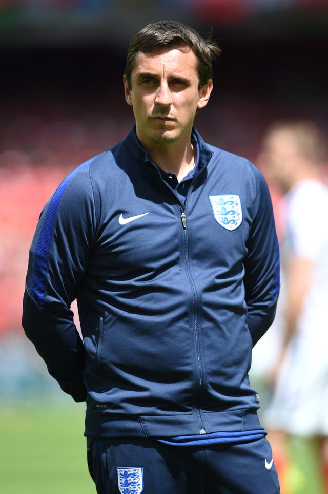 Gary Neville worked under Roy Hodgson at England