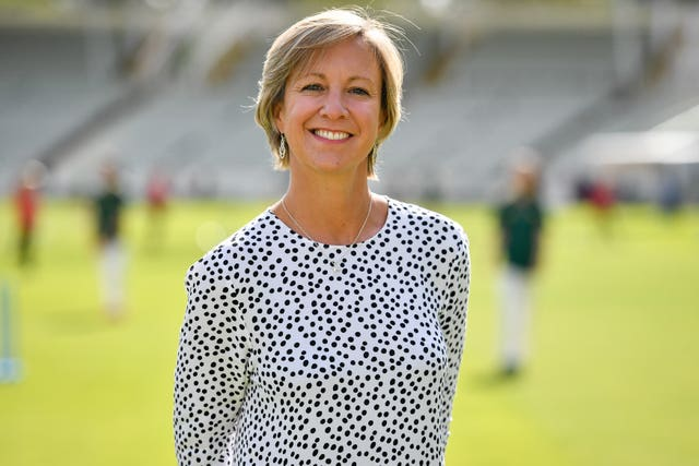 Clare Connor is the managing director of women's cricket at the ECB (Jacob King/PA)