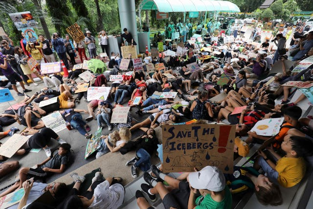 Thailand Climate Protests