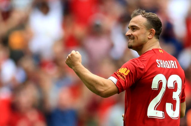 Liverpool's Xherdan Shaqiri has made himself unavailable for Switzerland