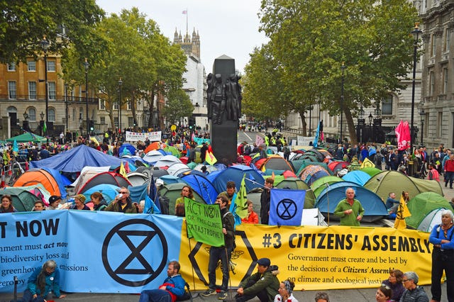 Extinction Rebellion protests