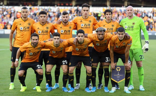 The Wolves squad are fully behind fundraising initiatives