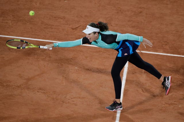Johanna Konta was beaten by Coco Gauff