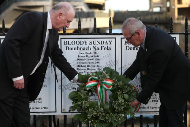 Bloody Sunday 100th Anniversary