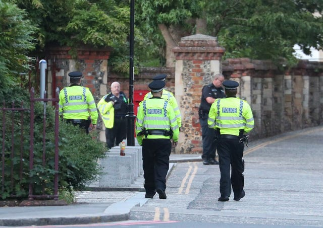 Forbury Gardens incident