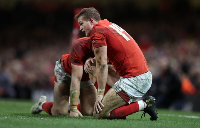 Amos has struggled with injuries during his Wales career