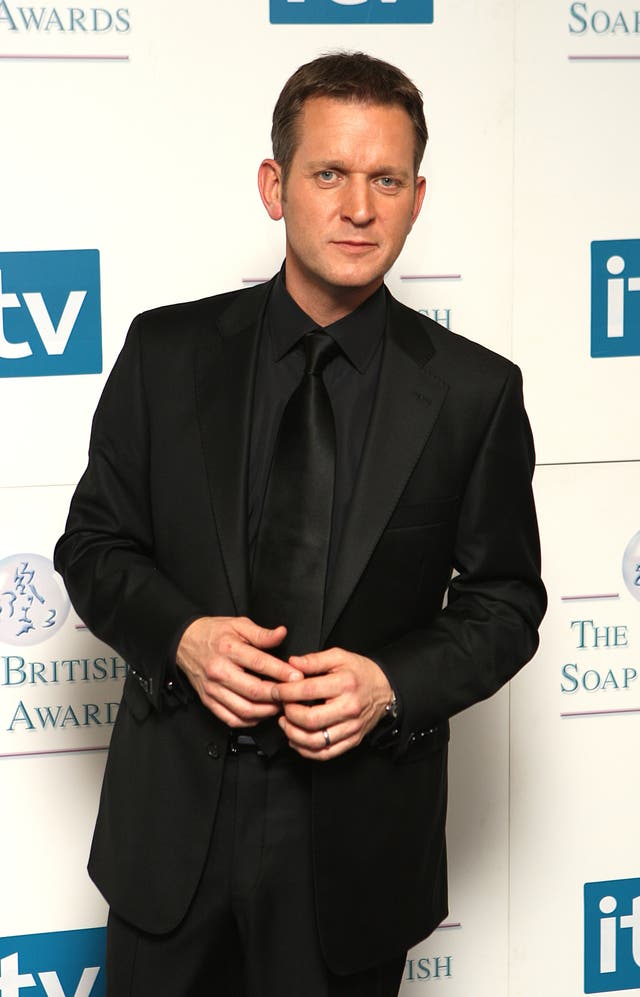 British Soap Awards 2008 – Press Room – London