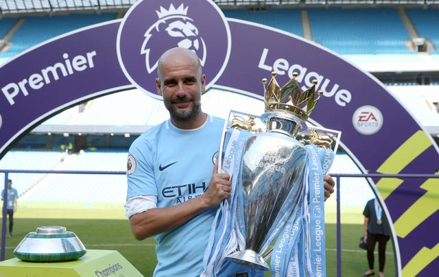 Guardiola, who has won two Premier League titles, is contracted until 2021