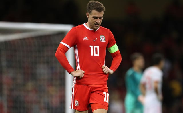 Aaron Ramsey has not featured for Wales for almost a year