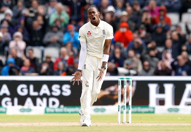 Jofra Archer was frustrated