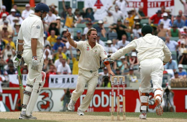 Warne claimed 708 wickets in 145 Test matches between 1992 and 2007