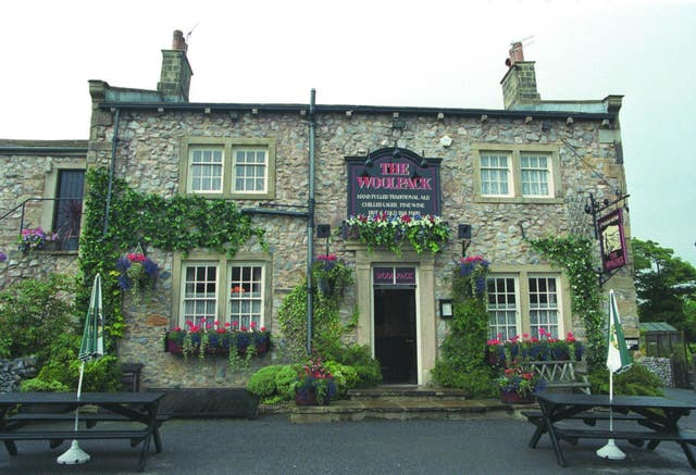The Woolpack pub