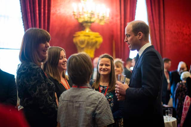Duke of Cambridge hosts Metropolitan and City Police Orphans Fund reception