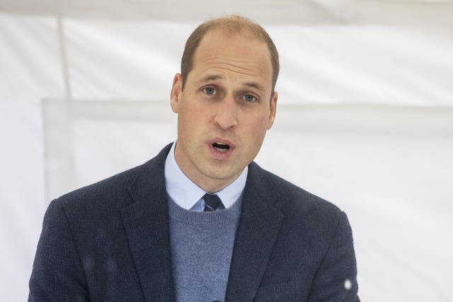 William turned to video and telephone calls to carry out royal duties during lockdown. Jack Hill/The Times