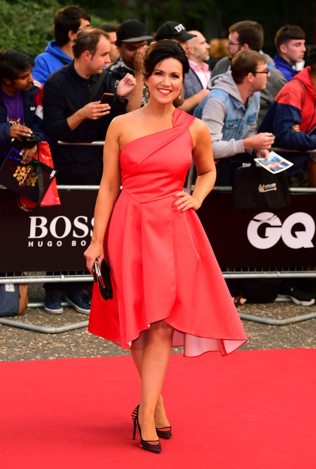 Susanna Reid  at the GQ Awards