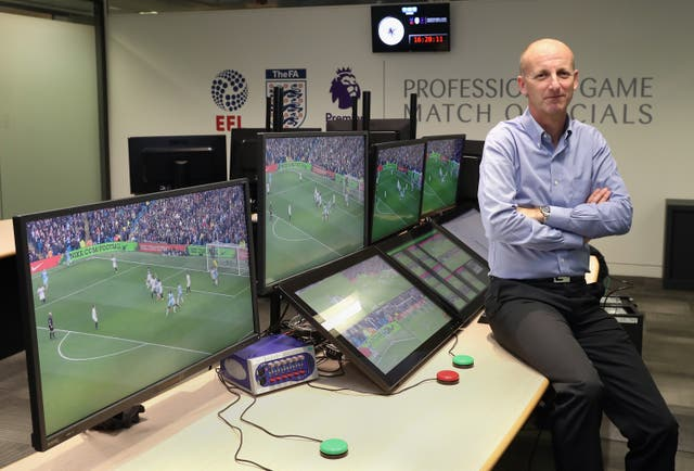 Referee's chief Mike Riley admits VAR improvements are needed