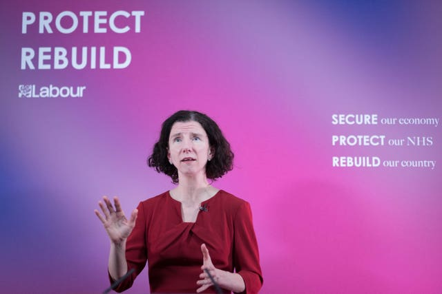 Anneliese Dodds delivered a pre-Budget speech to the Institute of Global Prosperity