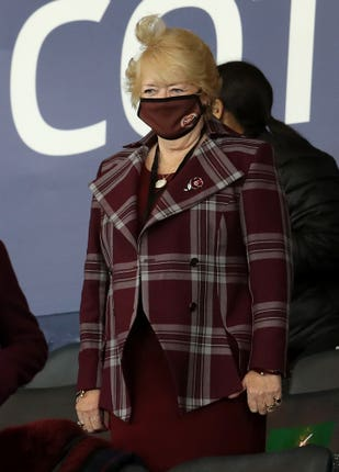 Hearts chairman Ann Budge fought to keep the club in the top flight
