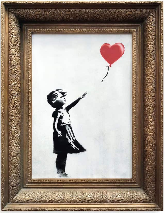 Banksy's artwork, Girl With Balloon