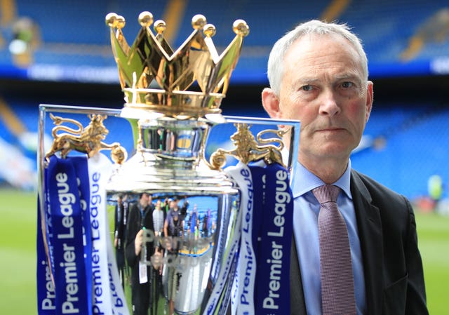 Richard Scudamore is the outgoing chief executive of the Premier League (Mike Egerton/PA).