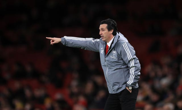 Emery saw his side lose the lead against Frankfurt as they slipped to a seventh winless game in a row.