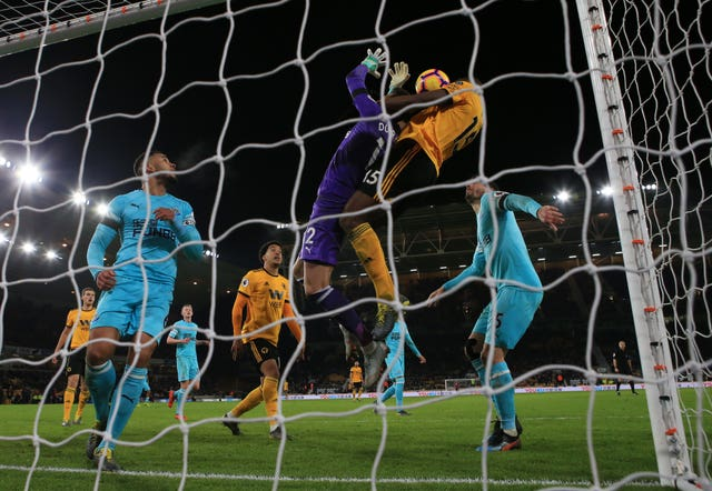 Willy Boly scores Wolves' controversial winner