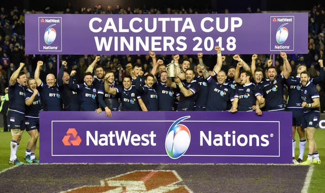Scotland won the Calcutta Cup in 2018