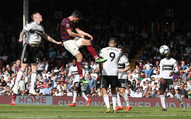 Fabian Schar helped Newcastle to a convincing victory at Fulham