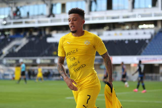 Jadon Sancho has excelled at Dortmund