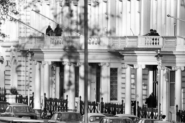 Crime – Iranian Embassy Siege – London