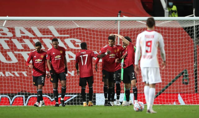 Marcus Rashford took centre stage at Old Trafford