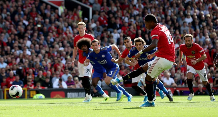 Marcus Rashford made no mistake this time