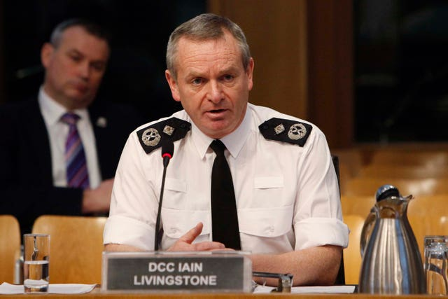 Chief Constable Iain Livingstone