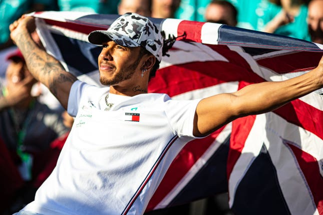 Lewis Hamilton tops Sunday Times Rich List among active sports stars