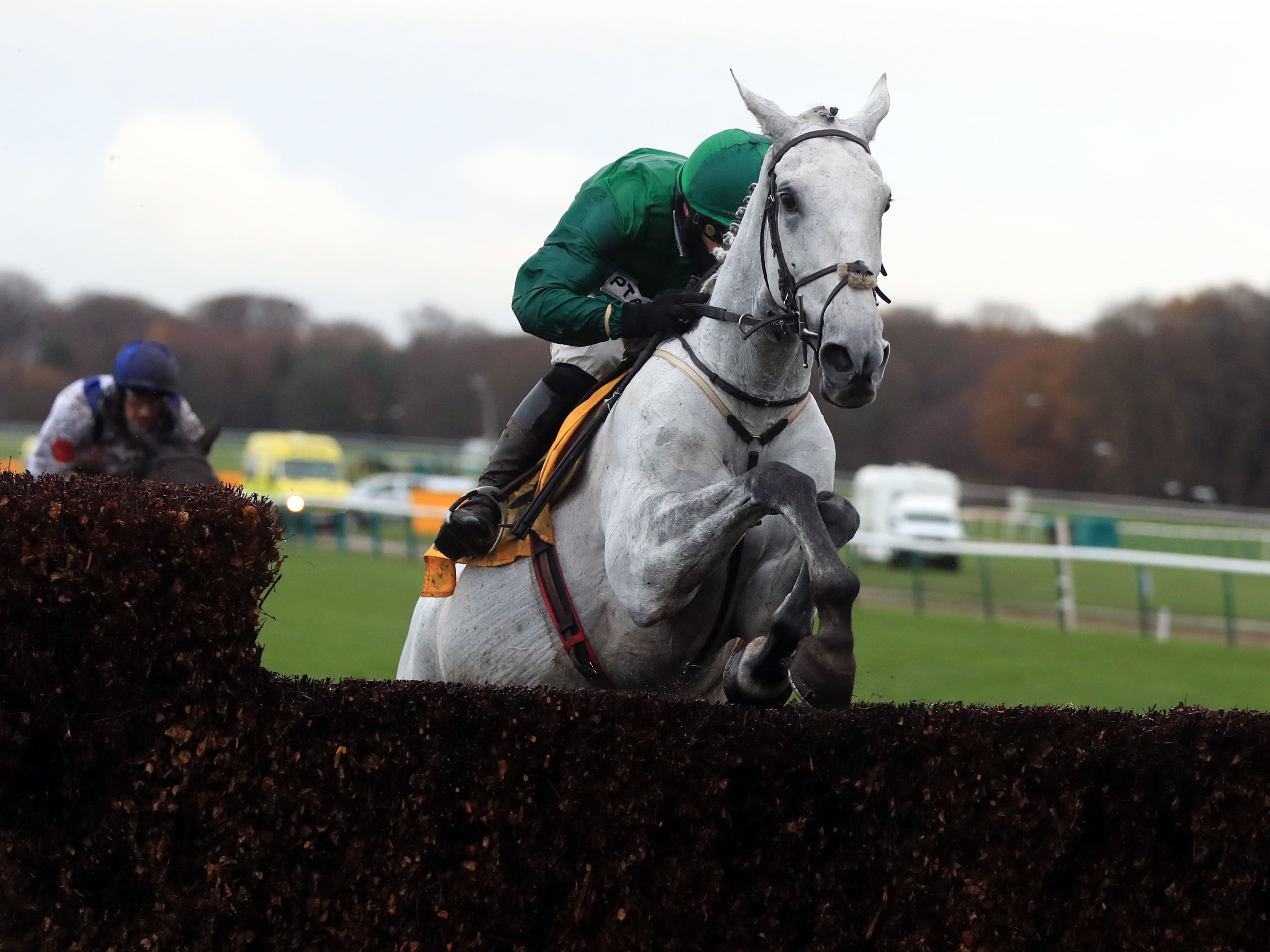 Bristol De Mai on his way to a third Betfair Chase victory (Mike Egerton/PA)