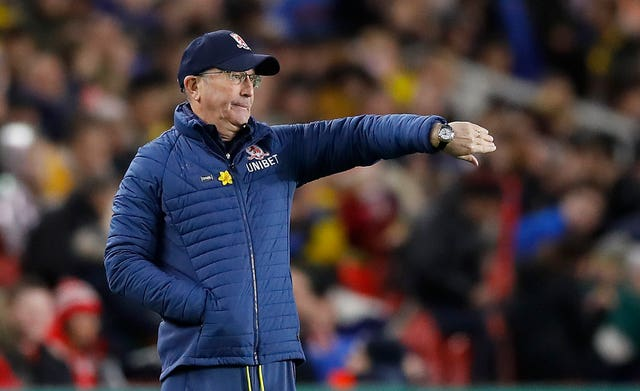 Tony Pulis has not been in the dugout since May 2019 with Middlesbrough