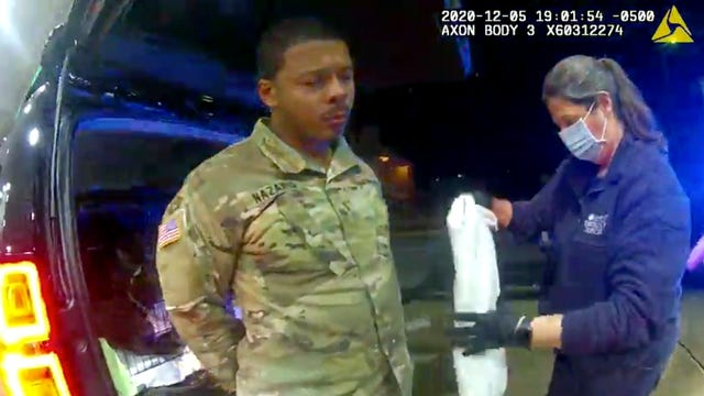 Army Officer Traffic Stop Lawsuit
