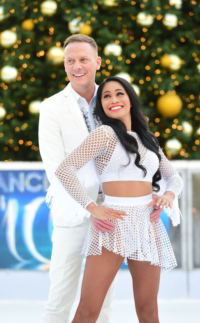 Antony Cotton at Dancing on Ice 2018 Photocall in London