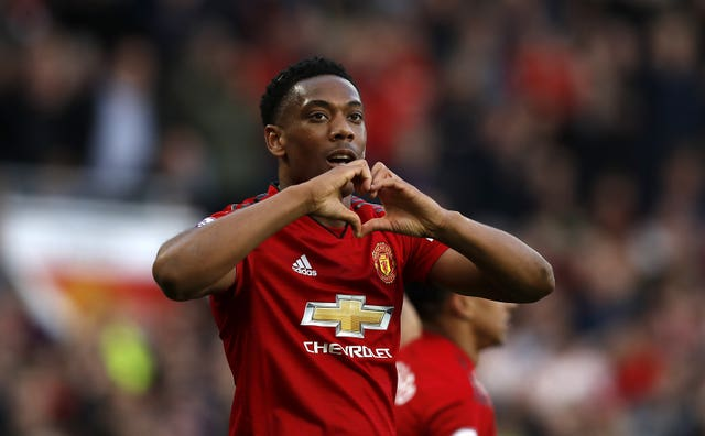 Anthony Martial is set to be available for Manchester United's match against Wolves